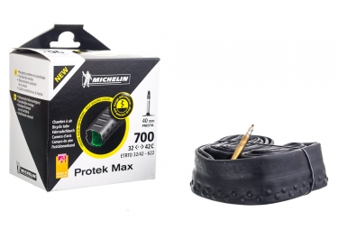 Michelin Protek Max Tube 700x35c - 700x42c Presta 40mm