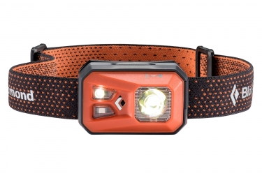 lampe frontale black diamond revolt octane 300 lumens orange gris