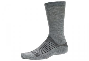 chaussettes swiftwick pursuit seven gris 39 42