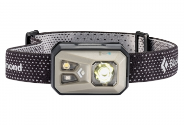 Lampe frontale black diamond revolt nickel 300 lumens gris