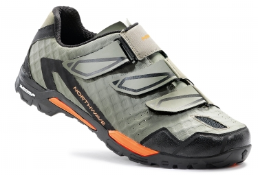 chaussures vtt northwave outcross kaki orange 42