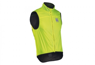 Giacca senza maniche Northwave Breeze 2 Neon Yellow Black