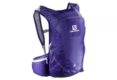 salomon sac trail 20l bleu