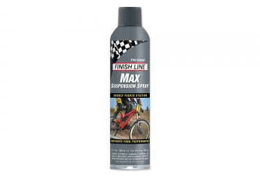 lubrifiant finish line max pour suspension 266ml