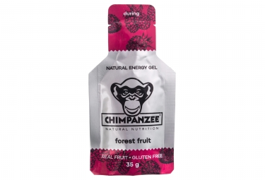 gel energetique chimpanzee fruits des bois 35g sans gluten bio