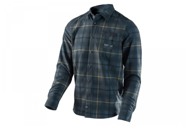 Chemise troy lee design grind gris s