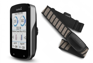 GPS Fahrradcomputer GARMIN Edge 820 + Brustgurt