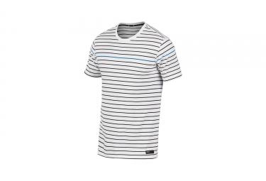 t shirt manches courtes oakley tinge knit blanc xl
