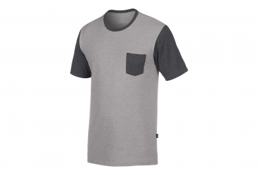 T shirt manches courtes oakley solid pocket gris m