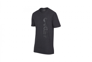t shirt oakley tri mark ii gris anthracite s