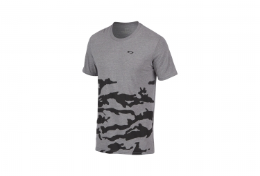 T shirt oakley tri half camouflage gris clair s