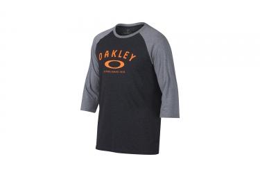 t shirt oakley 50 classic raglan gris anthracite xl