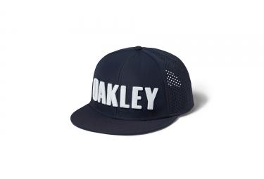 Casquette oakley perf hat gris blanc