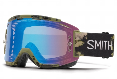 Masque Smith Squad MTB Olive Chromapop Rose