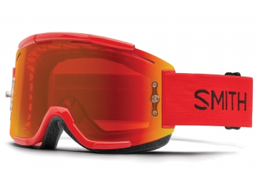 masque smith squad mtb red fire chromapop rouge