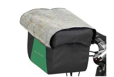 sacoche de cintre vaude discover box 6 litres noir vert