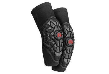 G Form Pro X Elite Elbow Guard Black Red S