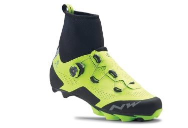 Northwave Raptor Arctic GTX Shoes Neon Yellow