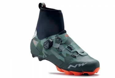 chaussures northwave raptor gtx camo orange 42 1 2