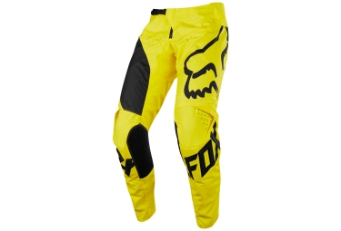 pantalon enfant fox youth 180 mastar jaune 28