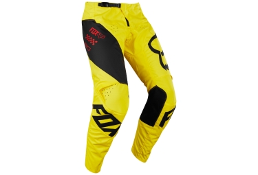 Pantalon Enfant Fox Youth 180 Mastar Jaune