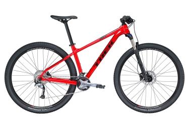 vtt semi rigide trek 2018 x caliber 7 27 5 shimano acera 9v rouge noir 15 5 pouces 153 162 cm