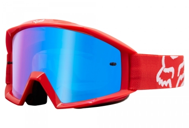 Goggles Fox Main Race yellow red