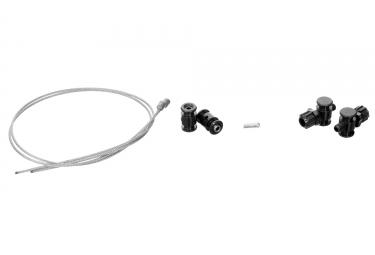 TRP Kit d´ajustement frein Revox/Eurox Câbles + Barillets Noir