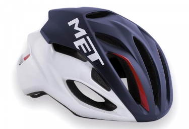 MET Rivale Helmet Blue White Red