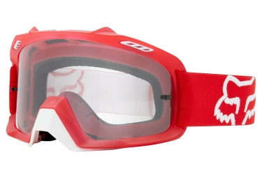 Goggles Fox AIR SPACE clear red