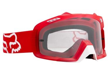 FOX Masque AIR SPACE Rouge Ecran Clear