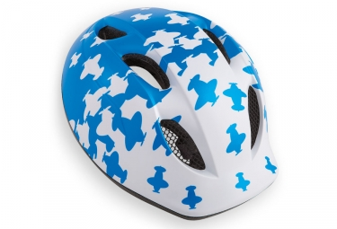 MET Super Buddy Airplane Helmet White Blue