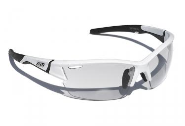 paire de lunettes azr blanc transparent