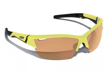 paire de lunettes azr jaune orange