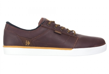 chaussures etnies jefferson marron blanc 43