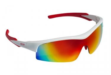 paire de lunettes azr aspin jr blanc rouge
