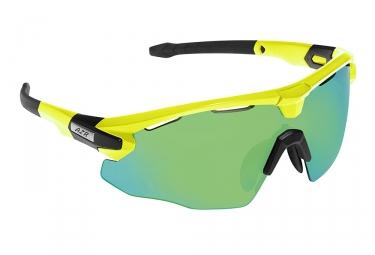 paire de lunettes azr flash rx jaune vert