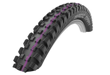 Pneu schwalbe magic mary 26 tubetype rigide snakeskin downhill addix ultra soft 2 50
