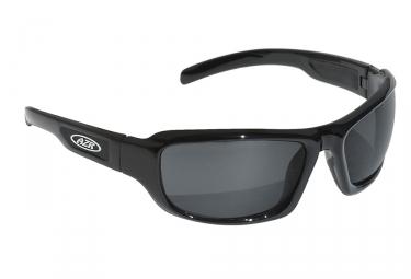 paire de lunettes azr noir gris
