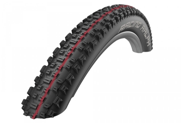 pneu schwalbe racing ralph 27 5 tubeless ready souple snakeskin addix speed 2 25