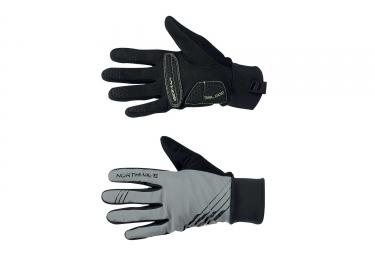 gants hiver northwave power 2 gel noir reflective xl