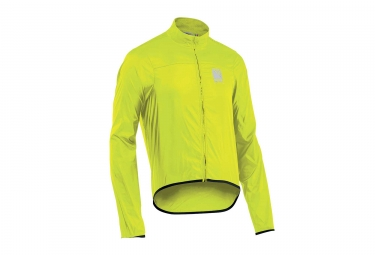 veste coupe vent northwave breeze 2 jaune fluo l