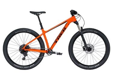 vtt semi rigide trek 2018 roscoe 8 27 5 sram nx 11v orange noir 18 5 pouces 170 179 cm