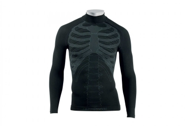 Northwave Body Fit Evo Seamless Long Sleeve T-Shirt Black Grey