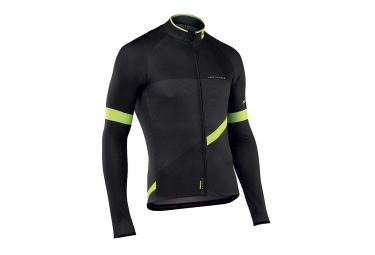 Maillot manches longues northwave blade 2 noir jaune fluo s