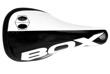 combo selle et tige box echelon 27 2mm carbone noir