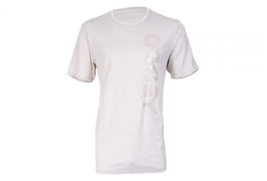 T shirt oakley tri mark ii side blanc s