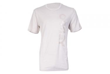 t shirt oakley tri mark ii side blanc m