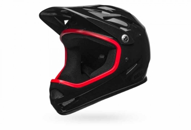 casque integral bell sanction noir rouge l 58 62 cm