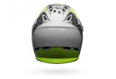 Bell Sanction Full Face Helmet Grey Yellow